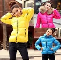 2014 Fashion down coat women Winter jacket,winter outerwear,winter clothes women thick jackets Parka Overcoat Tops JOY028