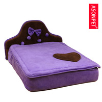 Brand pet bed supplies small Cats Dogs simmons bed cotton nest kennel sofa bed ladies Teddy Free Shipping