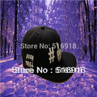 Free Shipping 2014 New arrival hot-selling been trill btlg mdlefnger black team cap baseball cap