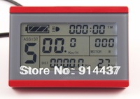 Electric Bike Display 3 - LCD red