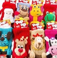 2015 New Arrival 5 Styles Best Christmas Gifts Christmas Socks Slip-resistant Adult Floor Socks Free Shipping And Drop Shipping