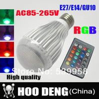 20W E27 RGB LED Light Bulb 16 Color RGB Change 110V/220V with Remote for home party decoration atmosphere