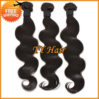 Cheap Brazilian Virgin Hair Body Wave Bundles 3pcs Lot Queen Hair Products Remy Human Hair Weave 100% Unprocessed Hair Extension