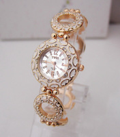 Wholesale New fashion stainless steel watch women ladies dress wrist watch Roman Style High quality TW017