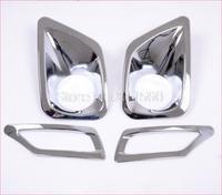 fit for 2013-2014 Toyota RAV4 Front  & Rear Fog Lamp Cover Light Bar Fog Lamp 4PCS