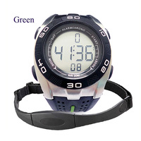Wireless Heartbeat Monitor with Chest strap Heart rate monitor Watch/Alarm/Stopwatch Free shipping