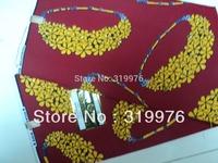 Super Wax print 100% Cotton African Fabric,131024B,+super hollandais wax prints fabric 6yards