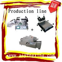 LED automatic desktop SMT pick and place machine TM240A