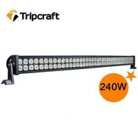 Free shipping 42inch 80pcs*3W 240w WORK LIGHTS LED 240w LED Light Bar,LED Christmas Lights Wholesale