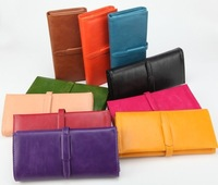 2014 Korean fashion Quality Nice Cowhide leather wallet / Unqiue design wallet / Top grade ladies wallet /Free Shipping