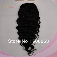 Sunnymay Cheap Natural Color Loose Curly Brazilian Virgin Human Hair Pony Tail