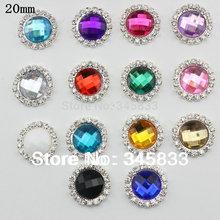 wholesale crystal rhinestone button
