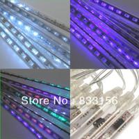 8Pcs Tube 50cm 240 LED Meteor Shower Rain Snowfall Fairy Light Christmas
