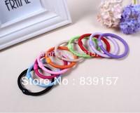200pieces/lot  / 100pieces/lot  wholesale 10 candy colors hair accessory  Elastic hair bands