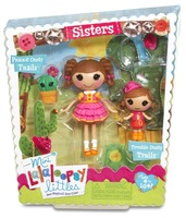 Mini Lalaloopsy doll toy Littles Sisters Trouble Dusty Trails & Prairie Dusty Trails Doll Lalaloopsy mini toys dolls for girls