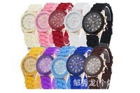 Fashion students watch silicone strap quartz Lady table  Retro Vintage Korean Fashion Women Ladies Three eyes wristwatch
