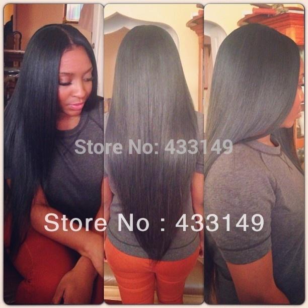 100 Human Hair U Part Wigs 116