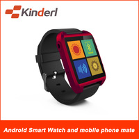 Z WATCH-Android 4.3 OS 4GB ROM 512MB RAM DUAL CORE 1.0GHZ  Smart Watch and Mobile Phone mate