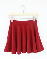 New Arrival 2013 Fashion Women's Cintage High Waist Bust Short Skirt Expansion Half-Skirt Free Shipping