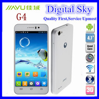GIFTS Original JIAYU G4 G4C G4T G4S MTK6592 Octa Core 1.7Ghz 2G RAM 16G ROM Android 4.2 4.7''IPS Gorilla2 3G smart mobile phone