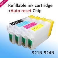 921N T0921 Refillable Ink Cartridges for epson T26 T27 TX106 TX109 TX117 TX119 C51 C91 CX4300