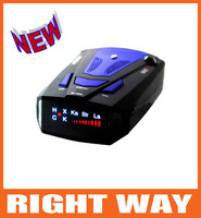 New 360 Degrees Full-Band Scanning Car Speed Testing System  Radar Detectors Built-in Russian/English Voice