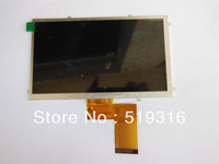 Latest version T7650B-C4 Freelander pd10 20 Tablet PC MID screen display screen kr070pe7t  FPC3-WV70021AV0 LCD