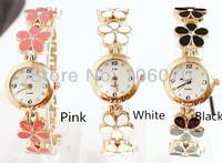 Relojes FreeShipping On Sale 2013 New Fashion Luxury Brand Wristwatch Analog Quartz Watches Flower Rhinestone Women Dress Watch