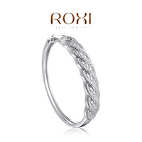 ROXI  Retro Bangles platinum plating,elegant Environmental Jewelry,Exquisite workmanship,free shipping70707004120