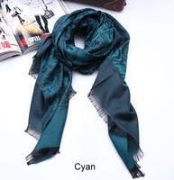 Free Shipping Hot new fashion design Rose pattern Scarf flower Scarves pashmina shawl wrap C02005