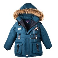 [Child Actor] 2014 New arrival children winter outerwear & coat girl thick down for winter boy jacket the outerwear 3 colors