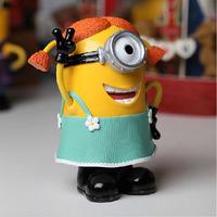 Hot ! Despicable Me 2 Minion 3D Toys Piggy Bank 20cm for Children Christmas Gift
