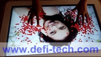 """80"""" IR Infrared Touch Screen Frame without glass for shop window Can be cut to any shape and size."""