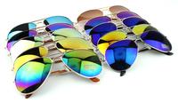 Aviator cycling sunglasses men fashion Classic toad colorful sun glasses 2014 outdoor women oculos designer retail free shipping