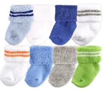 Носки для девочек Luvable Friend 8Pairs ,  Fotware 0/3 28000