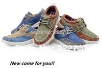Korean denim style sneaker autumn-summer blue For mens sneakers new 2014 shoes men casual discount online zapatos de hombre