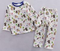 Boy's Winter Fleece Clothing Sets Toddler's Sleep Suits, 5 Sizes/lot for 1-4 years - CMFS03/CMFS04/CMFS08/CMFS12/CMFS13/CMFS14