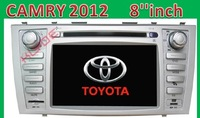 "2014 wholesale  New stlye 7""inch toyota Android 4.0 1G CPU DDR3 Car DVD Player Navi For CAMRY  2012 GPS dongle MIC 3D 3G WIFI"