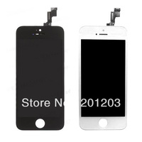 For Iphone 5S LCD Display Screen With Touch Screen Digitizer Complete Set Black OR White + Tools Free Shipping 3pcs/lot
