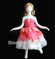 Luxury cupcake  Flower Girl Dresses 2013 New For Prom Party Ball Wedding Pageant Princess Gown Children's  Designer Cheaper