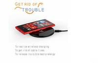 Free Shipping Ultrathin 6mm Thickness Qi Wireless Charger Wireless charging pad for Nexus 4/5,Google Nexus 7 II ,Lumia 920