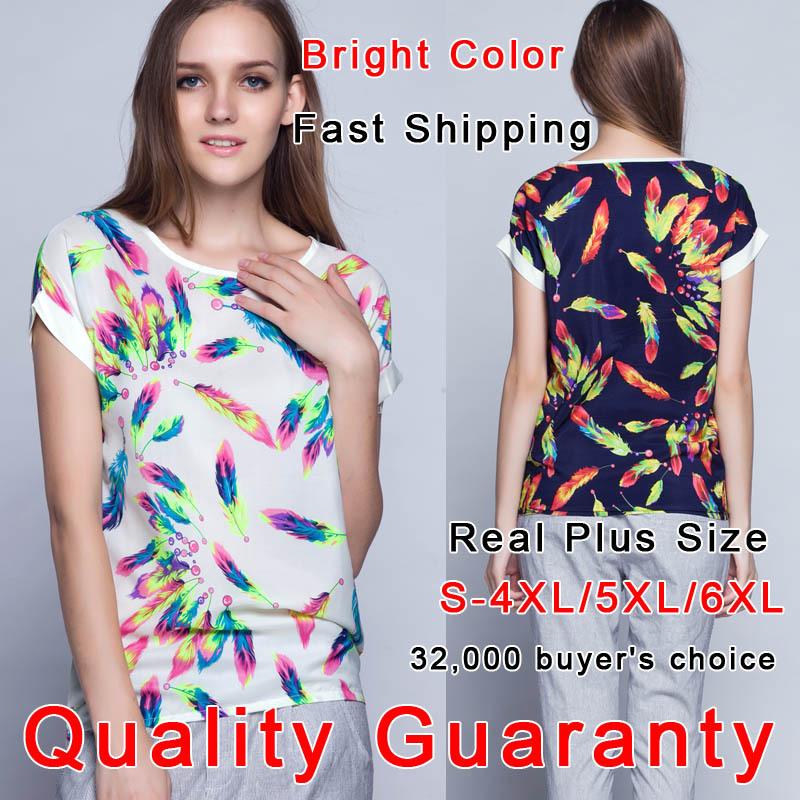 2014 Women T-Shirt S-5XL/6XL Plus Size Summer Women Clothing Blusas Roupas Camisas Femininas Crop Tee Short T Shirt Women Tops(China (Mainland))