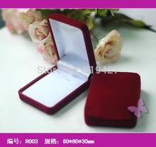 wholesale red velvet gift box