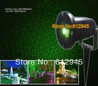 2014 new Waterproof Garden Laser sky star projector Light lighting for outside.Green/Red/Green and Red  laser Projector