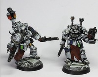 Forge World 40K Models Space Marines SPACE MARINE APOTHECARY SET 40K Resin Free Shipping