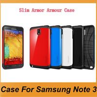 Hard Back Cover Luxury TPU Plastic Case For Samsung Note 3,N9000 SLIM ARMOR SPIGEN SGP Cases