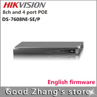 Hikvision  DS-7608NI-SE/P  4 POE  8-ch 1920*1080P /60Hz NVR HDMI VGA Audio RS-485