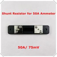 [4 PCS/LOT] FL2 Shunt Resistor for DC 50A 75mV Current Meter Digital Ammeter