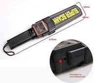 New arrived use in sporting events and airports hand held security super scanner metal detector  MD3003B1