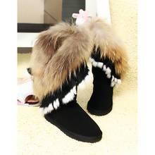 wholesale genuine fur boots